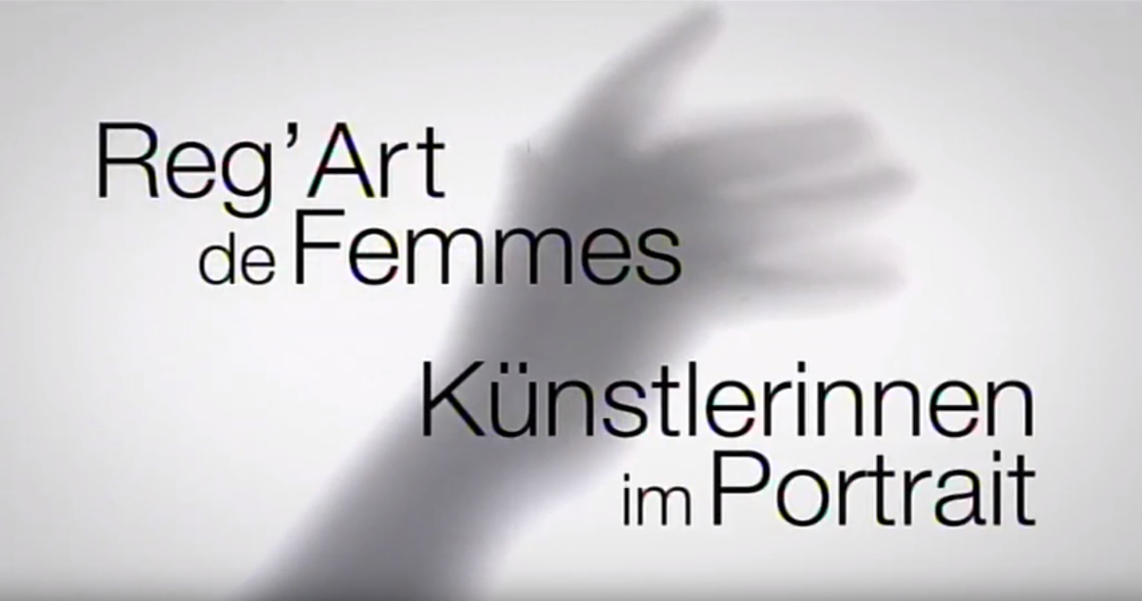 Vidéo-regard-de-femme-ARTE - Atelier Sylvie Saint André Perrin